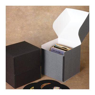 bo te de rangement pour vinyles. Black Bedroom Furniture Sets. Home Design Ideas