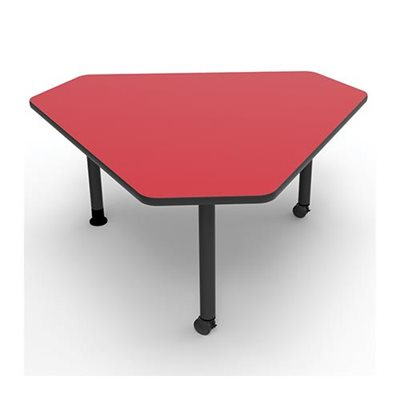 Table triangle 29 h pi tement m tal for Pietement table metal