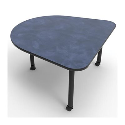 Table gumdrop 29 pi tement m tal for Pietement table metal