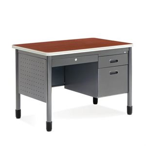 BUREAU SIMPLE TIROIR CERISIER